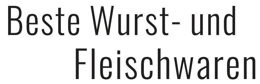Schraps, beste Wurst- und Fleischwaren fünf mal in Gera